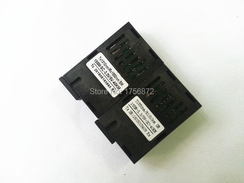 Conector SC 10 / 100M 1x9 Transceptor óptico BIDI- BIDI Single Fiber - Equipos de comunicación