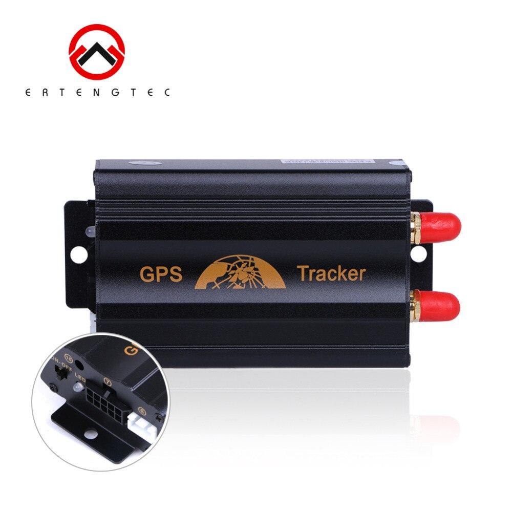GPS Tracker Dispositif De Suivi De Voiture Sur Chenilles Coban TK103A Coupée Huile LBS GPS Localisateur De Voiture D'alarme Voix Moniteur Déplacer Alerte Livraison Web APP