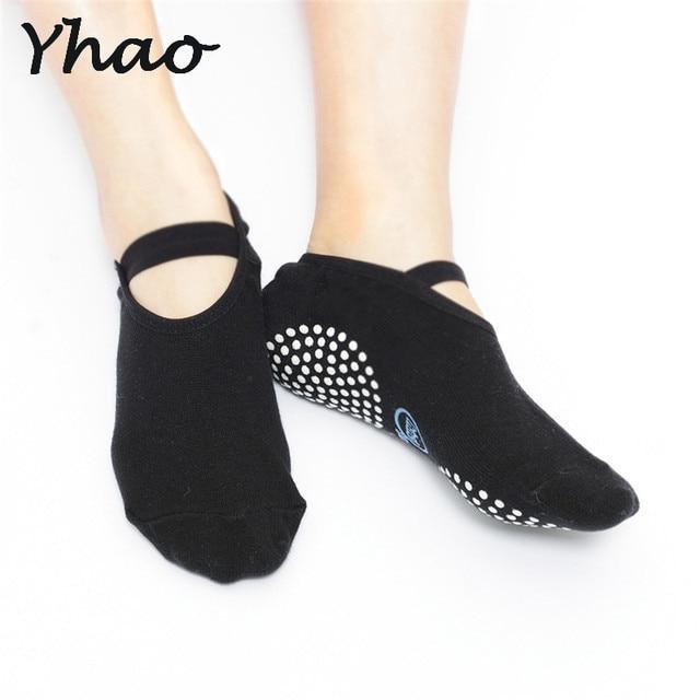 Yhao Brand High quality Yoga Socks Quick-Dry Anti-slip Damping Bandage Pilates Ballet Socks Good Grip Men&Women Cotton socks