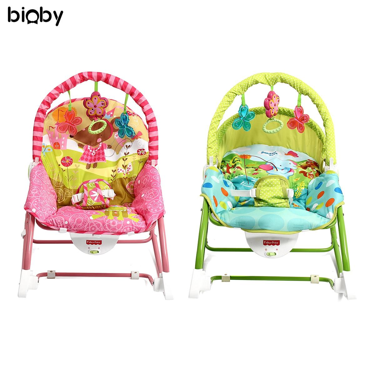 Bébé infantile Rocker videur chaise musique Vibration Swing jouets dormeur berceau siège soin lit Portable Balance bébé nouveau-nés chaise