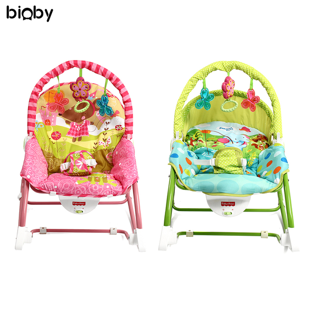 af074cb44 Baby Infant Rocker Bouncer Chair Music Vibration Swing Toys Sleeper ...