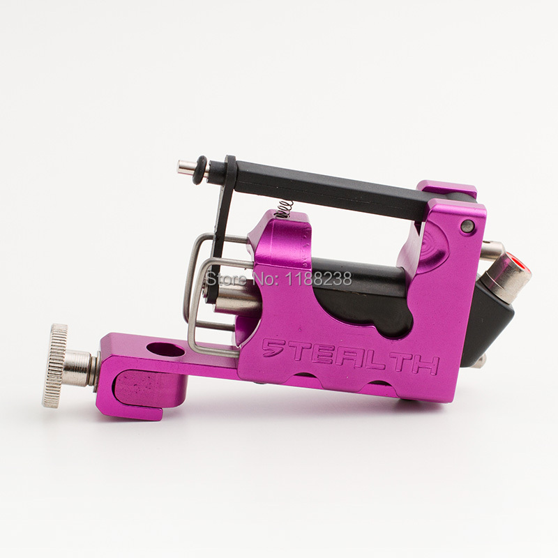 Professional Tattoo Machine Gun Kit  Aluminum STEALTH Generation 2.0 SET/2 Bearings/1 Allen keys Rose Red Free Shipping drift 53 006 00 stealth 2 lens replacement kit