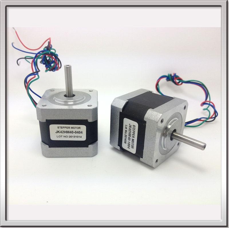цена на Free shipping NEMA17 0.9degree 42BYGHM381 42HM40-0404 42mm 2Phase Hybrid Stepper Motor 12V 0.4A 4-wire 3.4Kg.cm 40mm 3D printer