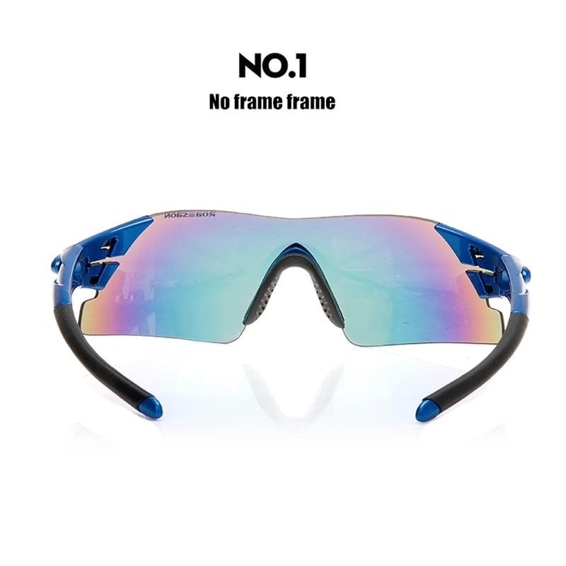 ROBESBON Sportovní Pánské sluneční brýle Cyklistické brýle Horské kolo Cyklistika Jízdní ochrana Brýle Brýle Brýle 5 Objektiv