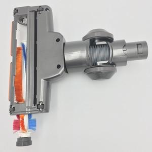 Image 2 - Electric Motorized Floor Brush Nozzle Turbo Brush for dyson DC44 45 58 59 61 DC62 74 V6 trigger Animal Motorhead parts Cordless