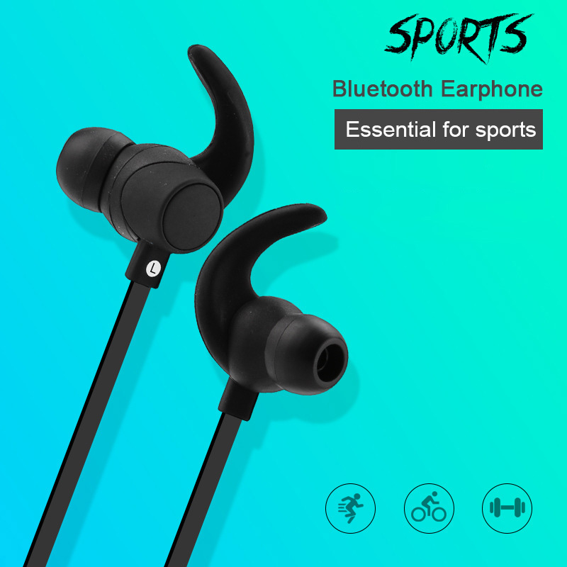 MS909A Stereo Sport Bluetooth Headset Earphones Headphones Microphone Clip-ON Headset Lavalier Microphone for iPhone Xiaomi