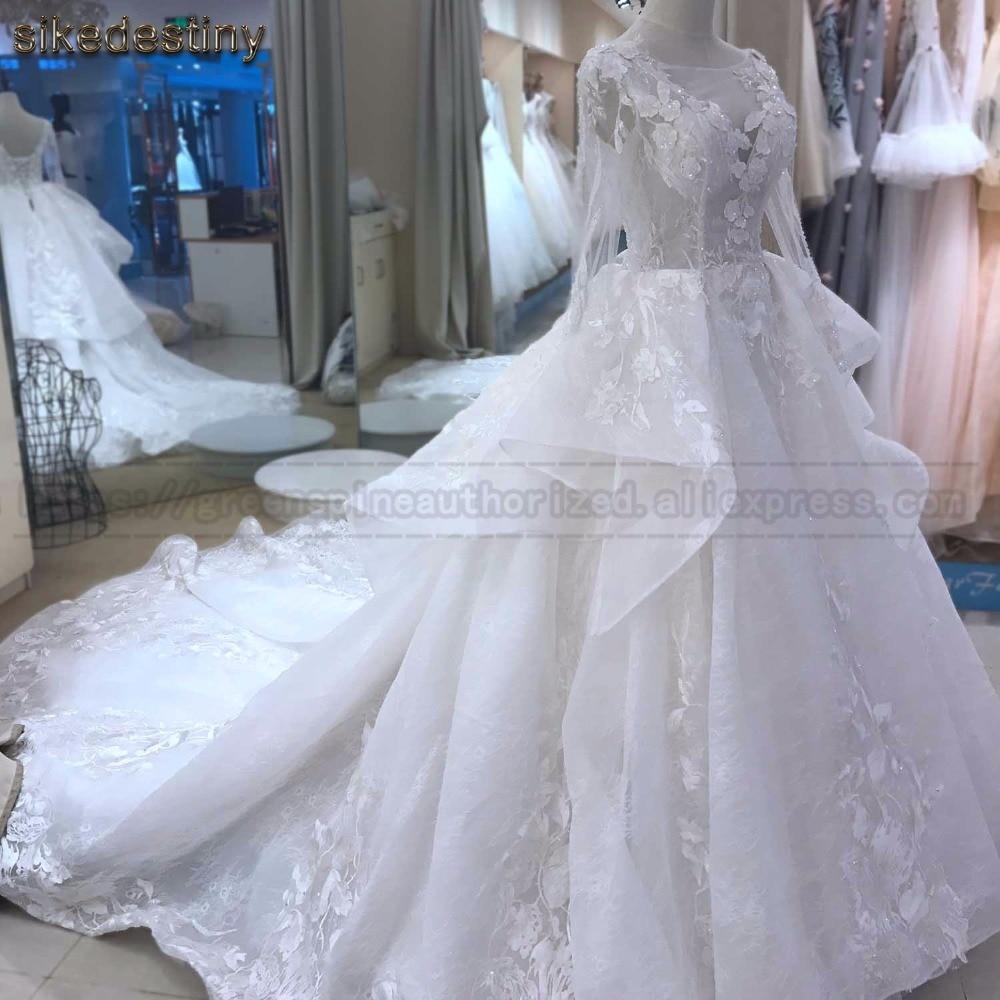 Elegant Wedding Dresse 2018 vestido de noiva Hochzeitskleid robe de ...