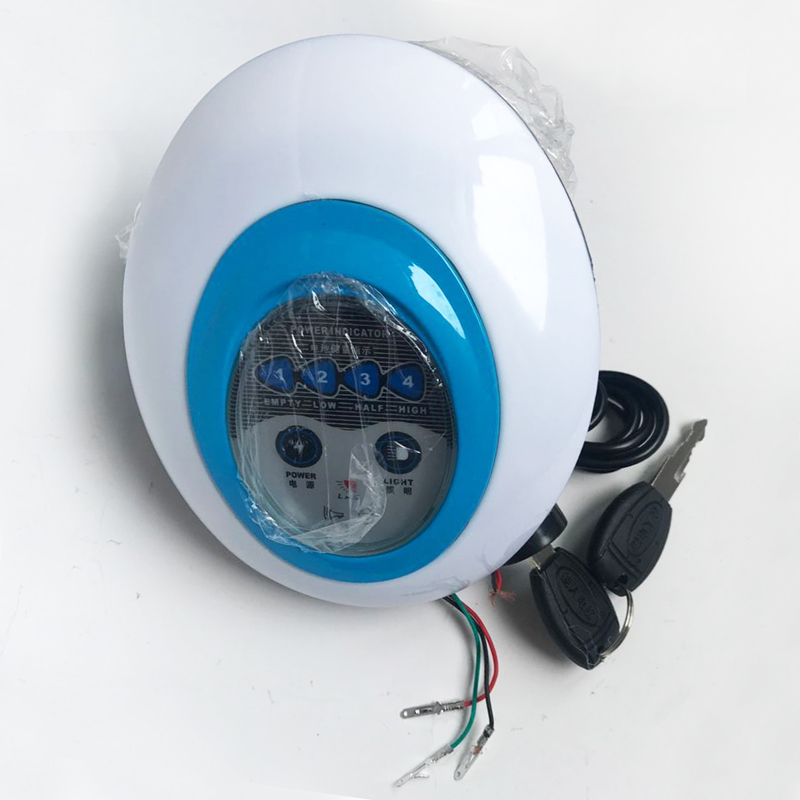 5 in1 LED Headlight Frontlight for Electric Bike Scooter 36V Light with <font><b>Horn</b></font> Lock