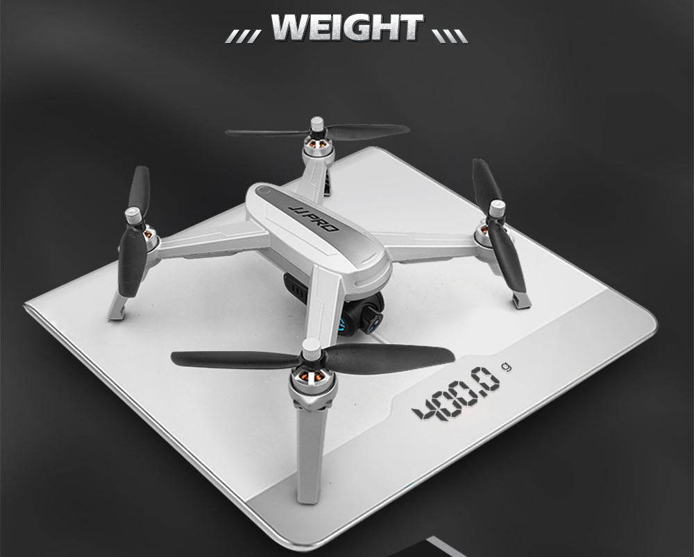 Jjrc Jjpro X5 5g Wifi Fpv Professional Rc Drone Brushless Gps Ocean Toy Quadcopter Super F 33043 White Note