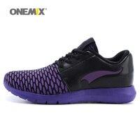 ONEMIX Femmes Sneakers Lace Up Sneakers Sport Femmes Chaussures Plates de Haute Qualité Chaussure de Sport pour Jogging Trekking Livraison Gratuite