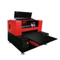 Automatic 6060 УФ планшетный принтер с 2 печатающей головки многофункциональный принтер для чехол для телефона футболка акрил, дерево 12 видов цвет