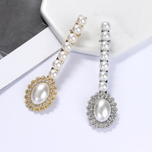 2019 New Alloy Crystal Hairpin Fashion Bohemian Pearl Popular Ladies Wedding Hair Accessories