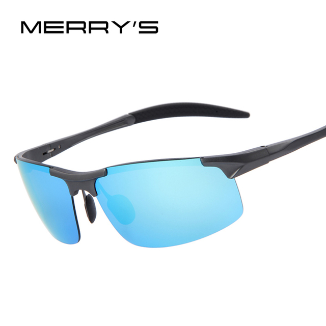 2016 Men Polarized Aluminum Alloy Frame Sunglasses Mirror Lens Driving Polarzied Sunglasses Fashion Men's Sunglasses 5 Color