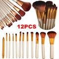 Vander 12 PCS Pincéis de Maquiagem Profissional Compo o Jogo de Escova pincel de maquiagem Para Beleza Blush Contorno Fundação Cosméticos Kits