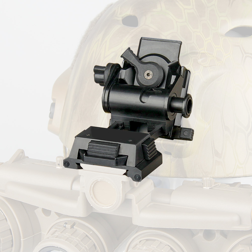Night Vision L4 G24 Style Mount NVG Mounts Adapters Helmet Adapters Mounts Metal Material Black Silver Tan OS24-0049