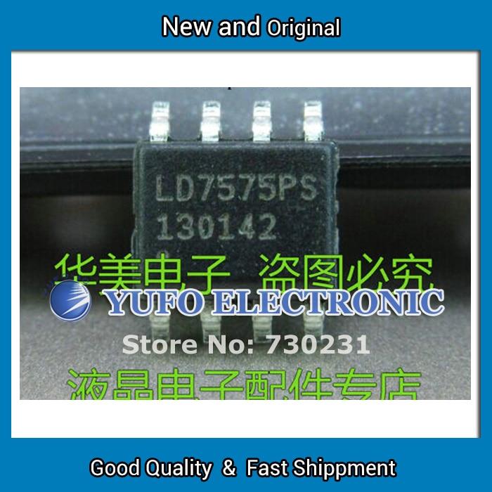 Free Shipping 20PCS LD7575PS Genuine LCD   management chip SOP-8 (YF0912)