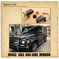 W463 rear mirror fit for MB G-CLASS W463 G500 G550 G55 G63 G65 side mirror with electrical folding function