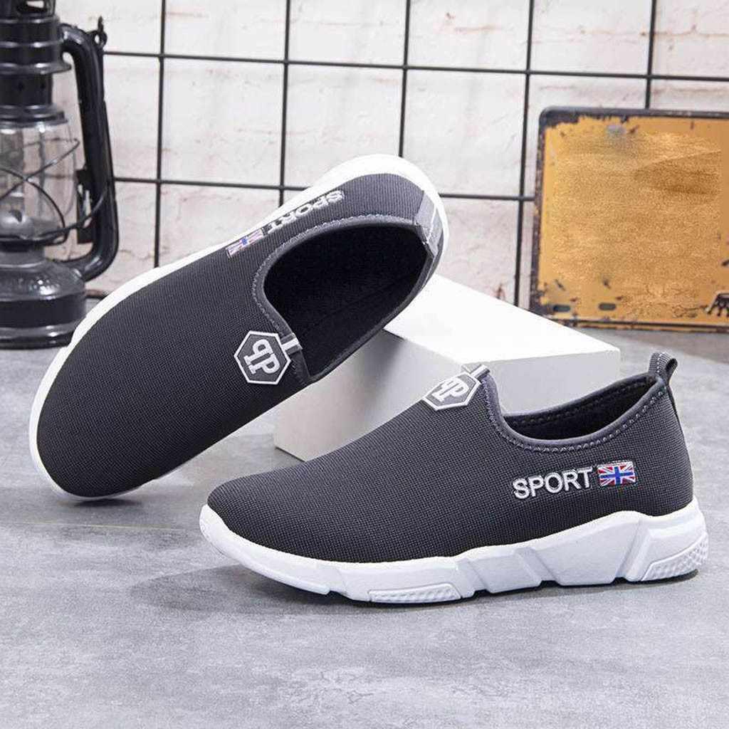 通気性の男性スニーカー男性の靴を実行しているフラット快適なフィットネススポーツ靴カジュアルシューズスニーカー靴 # G3