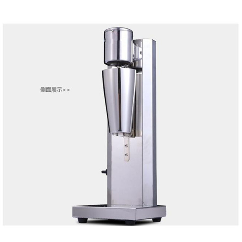 Single head commercial milkshake maker shake mixer blender milk shaking machine 220v commercial single double head milkshake machine electric espresso coffee milk foam frother machine bubble maker
