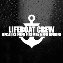 Lifeboat Crew Sticker Sign Decal Cool Graphics Vinyl Decals