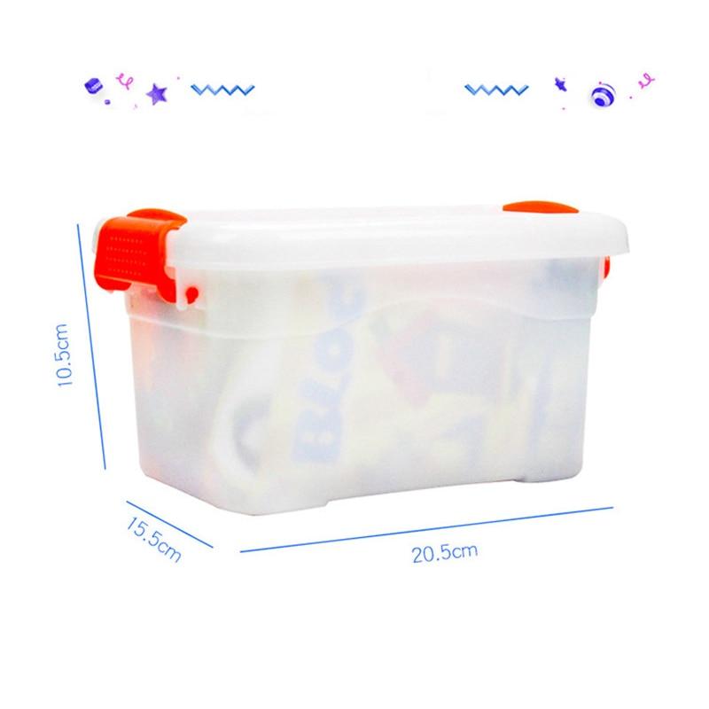 Купить с кэшбэком 96pcs Baby Toys Digital Building Blocks bricks ABS Children Kids Educational Construction Compatible Plastics Toys