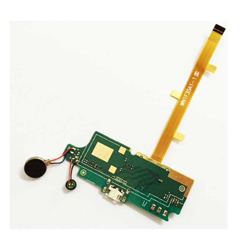For ZTE Blade L2 USB Charging Port Micro Dock Connector Board Flex Cable With Vibrator