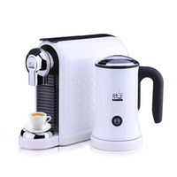 Espresso Machine with Milk Frother Automatic Drip Coffee American Milk Frothing Pitcher In Steel Coffee Pot Stainless Moka Pot