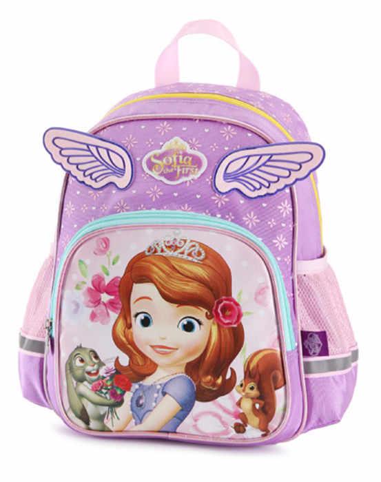 ... Cute Cartoon Princess Sofia The First Wings Bag Kindergarten Preschool Backpacks  Kids Schoolbag Children School Bags ... abb498198e121
