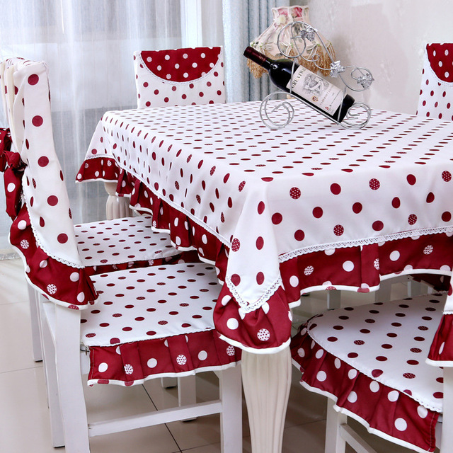 Red Table Decorations For Weddings Mantel De Mesa Lace Table Cloth  Tablecloth Round Runner Guardanapo Tablecloths