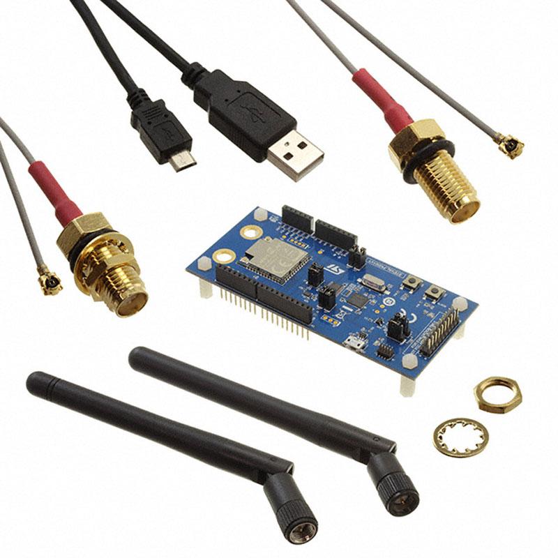 Pcs x STEVAL-FKI001V1 1 RF Placa De Desenvolvimento Dual rádio BLE & Sub-1GHz para Sigfox e protocolos com BlueNRG-1 LPWAN & s2-LP