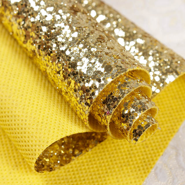 placeholder High quality Chunky glitter 3d wallpaper Christmas crafts  non-woven fabric Wallpaper Rolls For Walls 686d505da7c3
