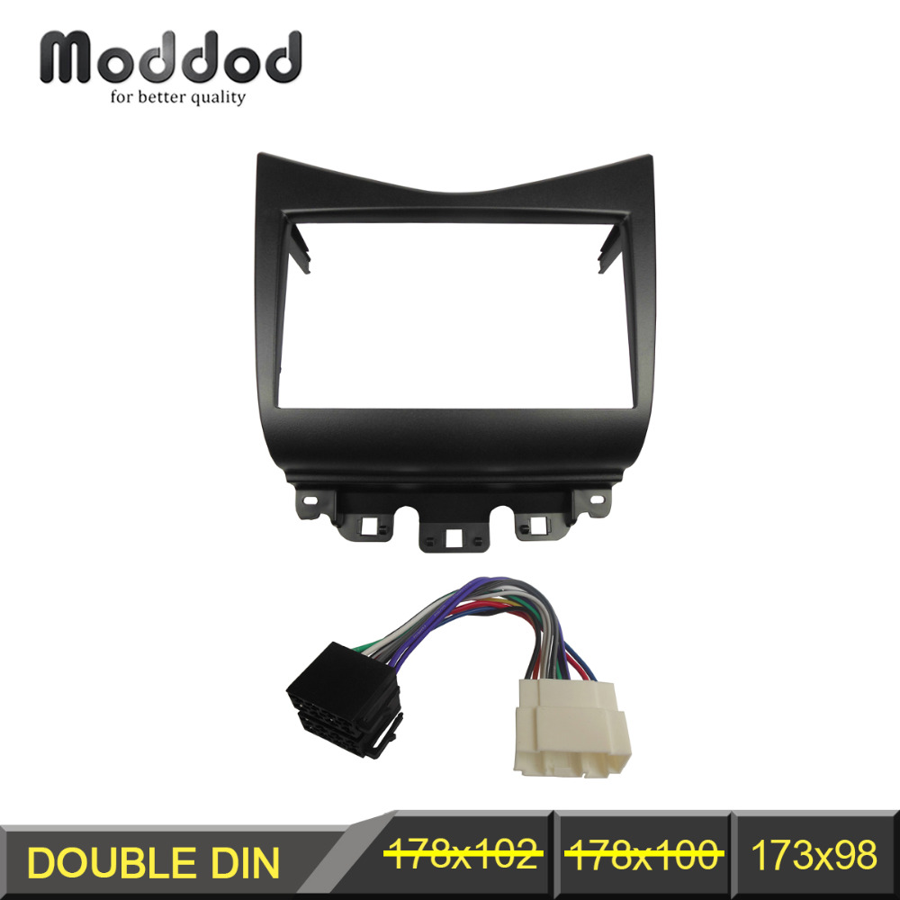 Double Din Fascia For Bmw Series 5 E53 E39 Radio Dvd Stereo Panel Car Cd Fitting Kit Wiring Harness Iso Aerial Adaptors Honda Accord 2002 2007 With Trim Face Frame
