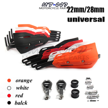 цена на 7/8 22mm Or 1-1/8 28mm handguards Hand Guards for CR CRF YZF KXF RMZ BSE Dirt Bike MX Motocross Enduro Supermoto OFF ROAD