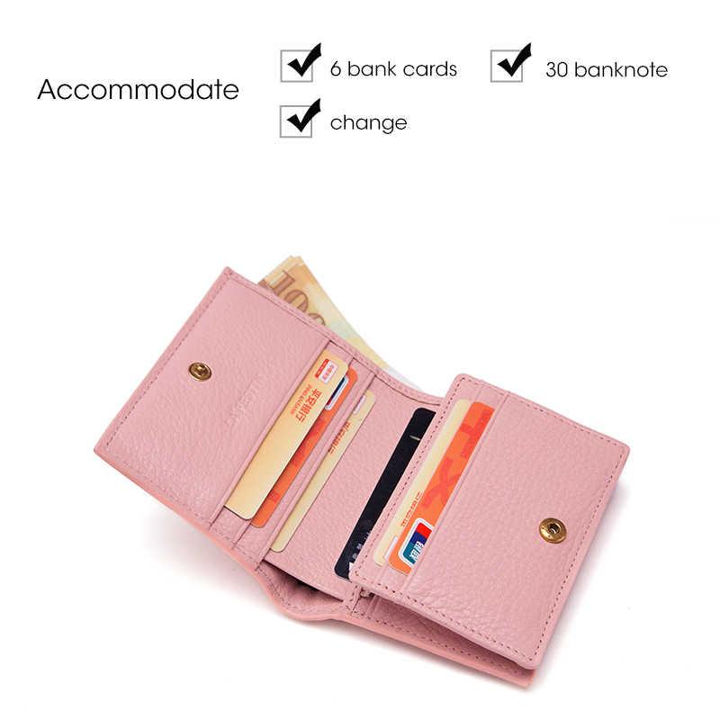 LAFESTIN женский кошелек брендовый высококачественный кошелек кошельки дизайнерские портмоне из натуральной кожи держатель для кредитных карт portefeuille femme
