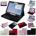 Galaxy Tab 4 10.1 клавиатура чехол Bluetooth клавиатура чехол для Samsung вкладке галактики 4 10.1 дюймов T530 планшет + бесплатный стилус и фильм