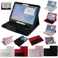 Galaxy Tab 4 10.1 Keyboard Case Bluetooth Keyboard Case Cover For Samsung Galaxy Tab 4 10.1 inch T530 Tablet + Free Stylus&Film