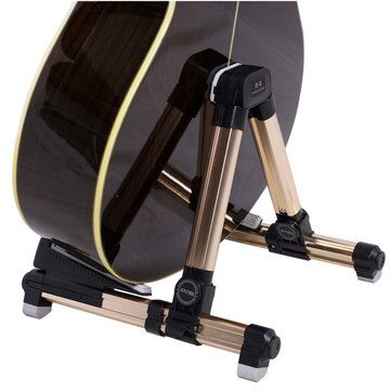 Aroma AGS-08 Foldable Metal Stand For Guitar aroma al 1 stand lamp