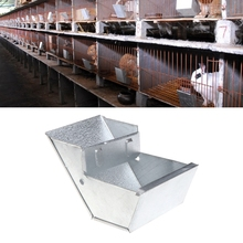 Pro Rabbit Hutch Trough Feeder Drinker Bowl For Rabbit Farming Animal Equipment Tool Farm Animal Feeding Watering Supplies юбка hutch