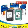 Бесплатная доставка Reman картриджи для HP 350/351 для HP DJ D4260 / C4280 / D4360 / J6480 / C5280 / J5780 принтеров