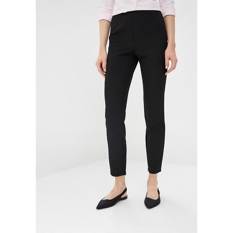 Pants & Capris MODIS M182W00424 capri trousers for female for woman TmallFS cycling bicycle bike riding capri pants black size m