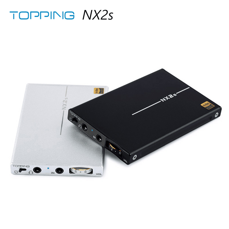 Topping NX2s Ultra slim HIFI DAC portable amplifier Headphone amplifier