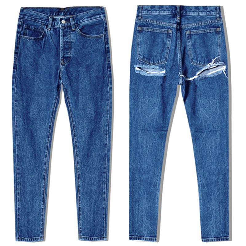 Brand New Women Washed Baggy Denim Slim Thin Skinny Ladies Hole Jeans Long Denim Trousers Leggings Pencil Pant