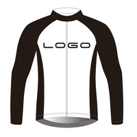 2018 Custom any color any team winter thermal fleece Ropa Ciclismo Long Sleeve Cycling Jersey