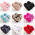 Baby Girl Newborn Pram Crib Shoes Winter Warm Toddler Infant Sneaker Prewalker