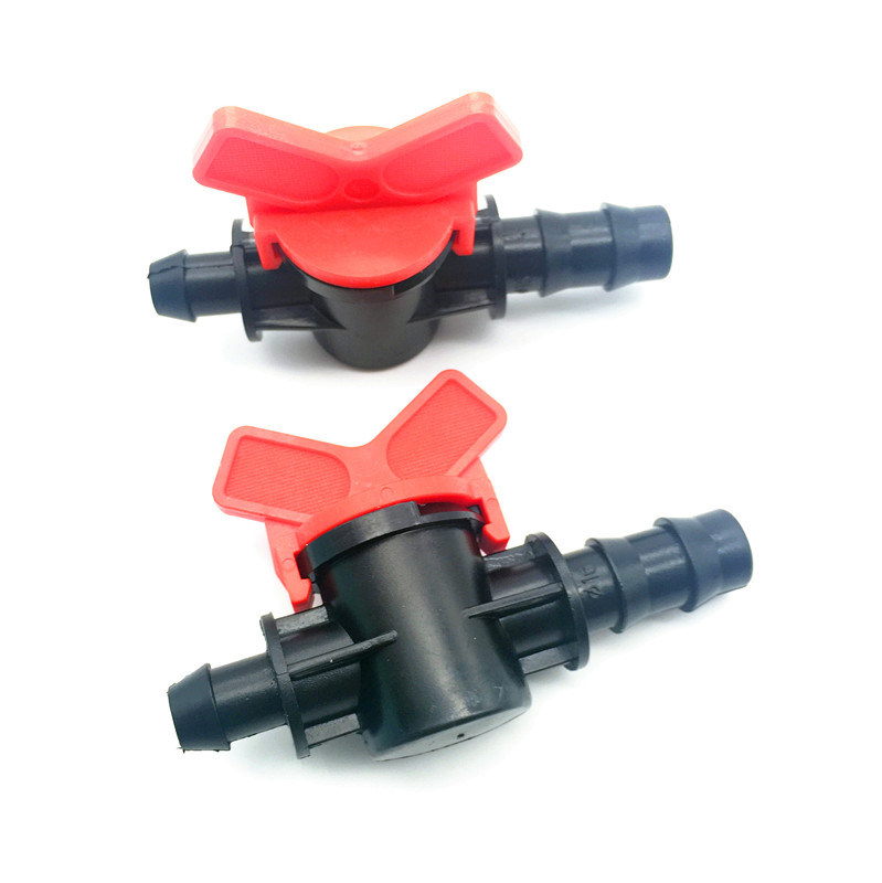 10 Pcs Garden Irrigation Switching Valve 13mm Conversion 10mm Hose Pvc Pipes  Drip Flow Controller Adapter Connector