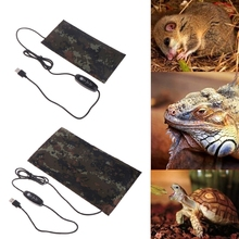 Pet USB Heating Mat Reptile Adjustable Warmer Constant Temperature Waterproof Bed Amphibians Control Device