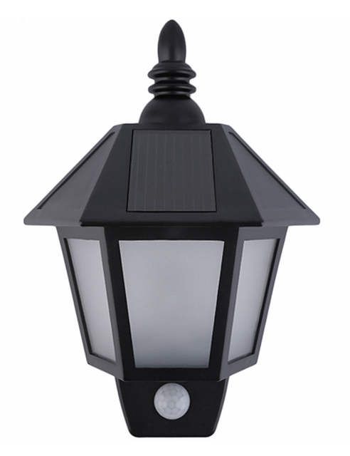 Abs Led Solar Porch Lamp Wall Light