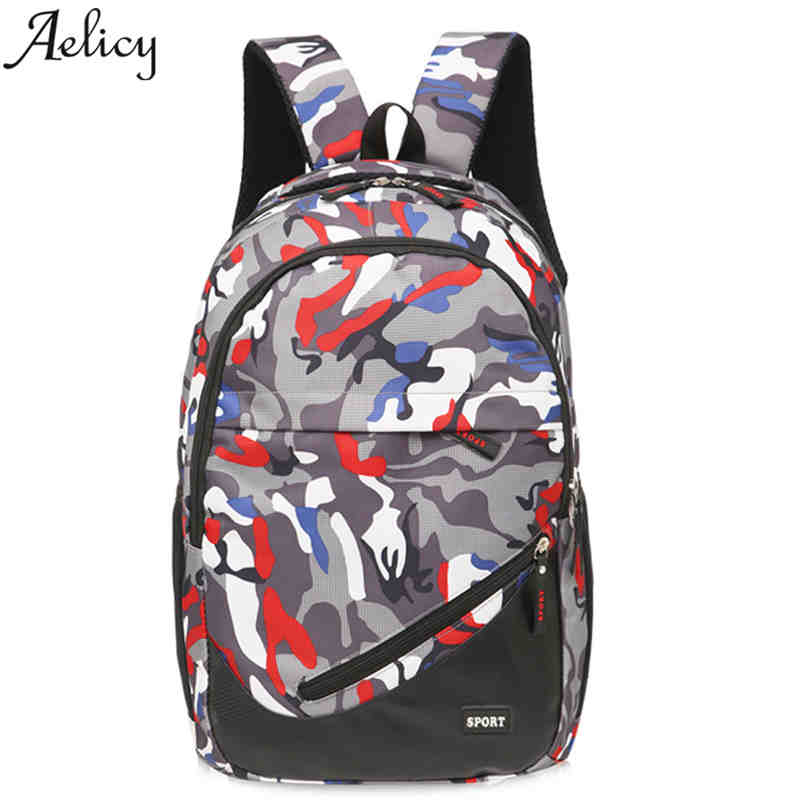 Aelicy Luxury School Bag for Teenager Boy Rucksack Laptop Backpack Teen Black Football B ...