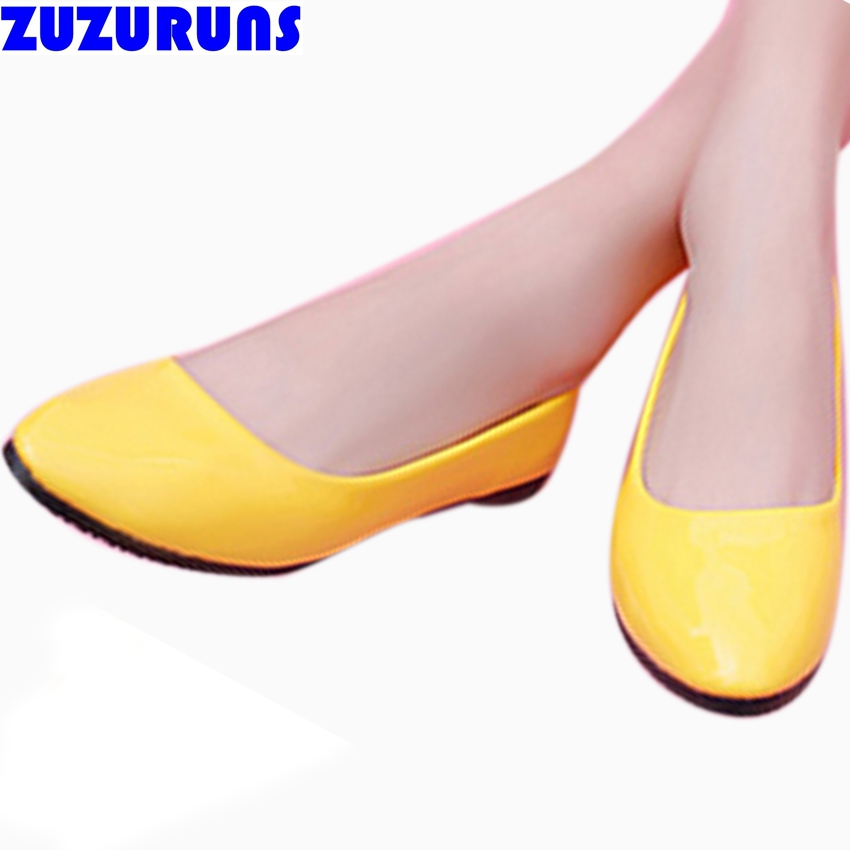fashion slip on shoes for women flats ultra light women flat shoes candy color soft upper