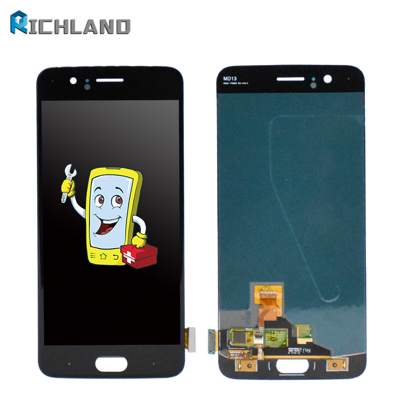 For Oneplus 5 LCD Display+Touch Screen Test Good Digitizer Glass Panel Accessory Replacement For Oneplus A5000 1+5 Display LCD